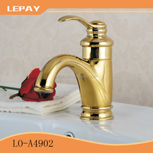 Chrome polished brass single handle water basin faucet