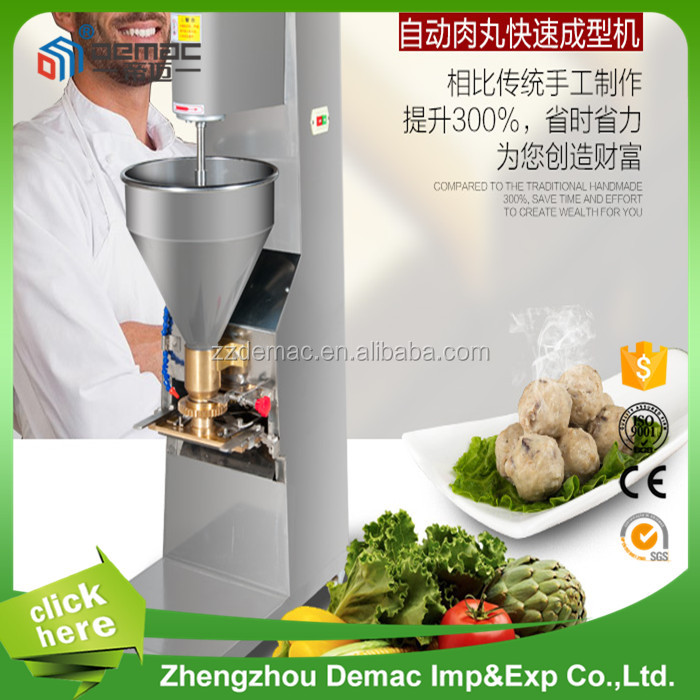 automatic restaurant port fish beef meatball forming machine