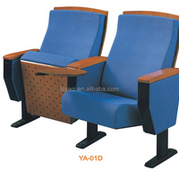 Metal Folding Commercial Wooden Auditorium Chair