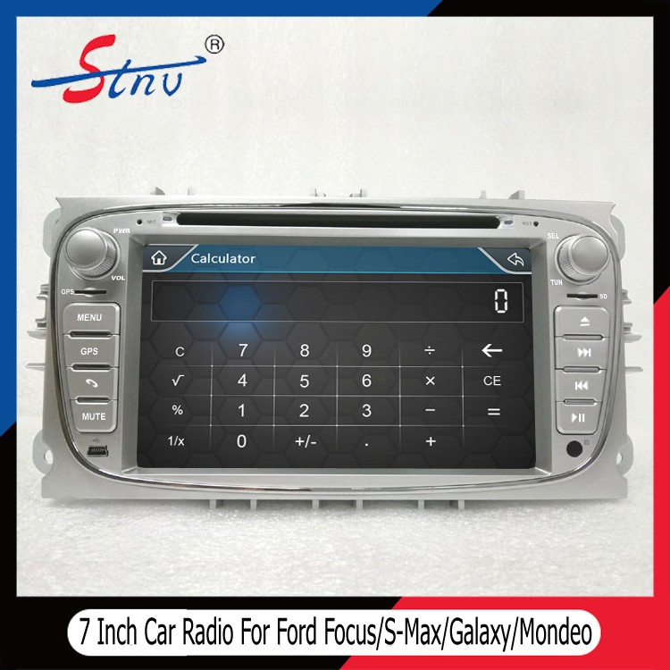 7 Inch Mondeo Car Multimedia For Ford With Radio/Free Map/GPS/SWC