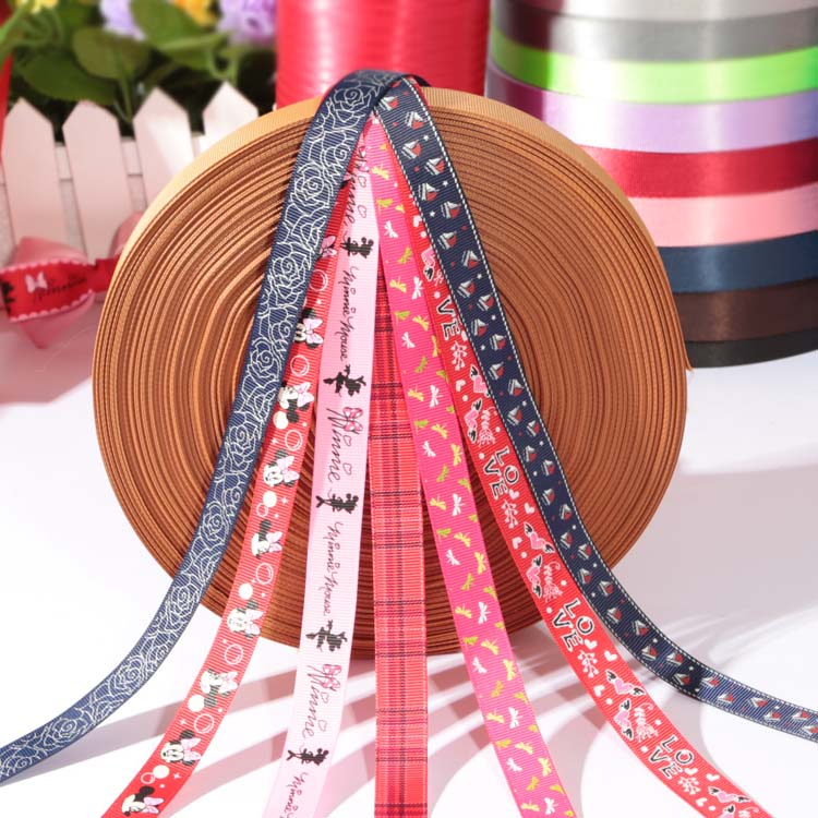 Personalized high quality nautical ribbon prints /grosgrain ribbon
