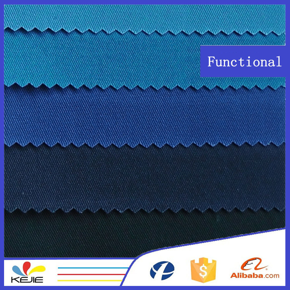 EN11611, EN11612 T/C 65/35 Flame resistant Fabric for workwear
