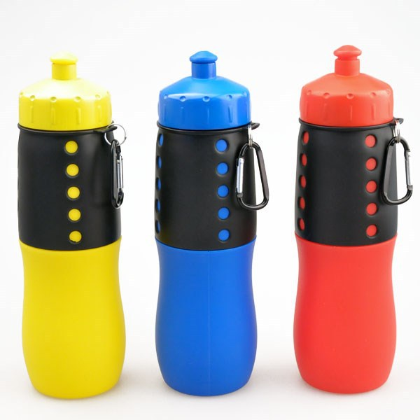 Travel bag with holder 12oz disposable logo plastic cups small sport kid juice bottle