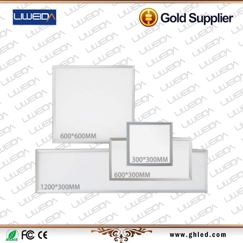 Commercial led panel light 300x1200 18w 45w 72w CRI>80Ra 100-277VAC SMD2835 led flat panel displays with ul
