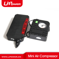 12V Car Jump Starter mini Air Compressor/tyre inflator /tire pump