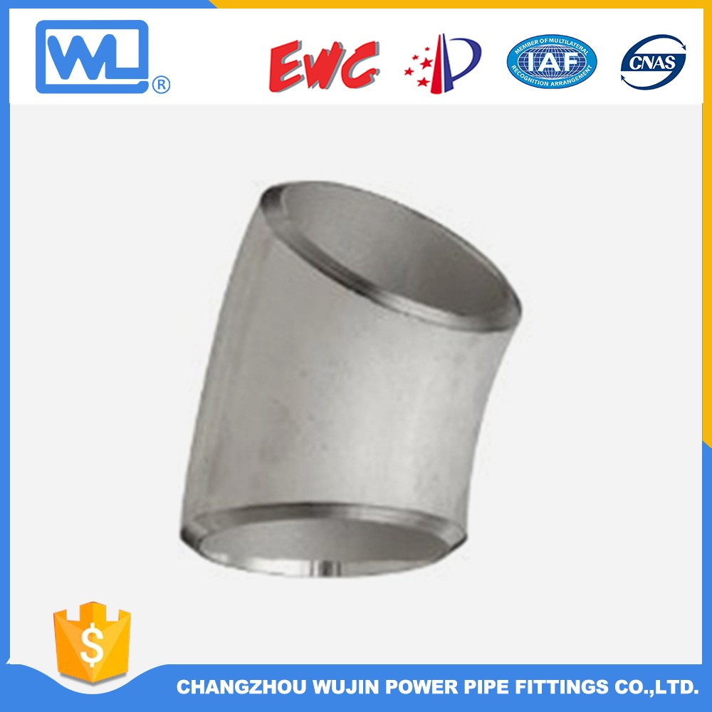 Din Standard Pipe Fitting 90 Degree 1.5D Elbow Bend