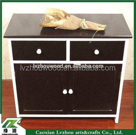 cheap modern simple exquisite wooden storage cabinet