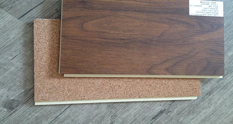 5 12mm Wpc Click Vinyl Flooring Lvt Pvc Flooring With Cork