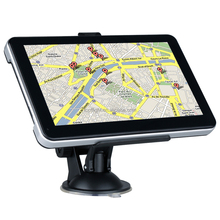 "7"" Touch Screen RAM256M/8GB 800MHZ CPU FM WinCE 6.0 3D Maps Muli-languages Car GPS Vehicle Navigation GPRS Tracker GSM"