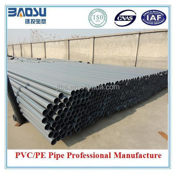 UPVC Pvc Pipe Manufacture 80mm 110mm Pvc Pipe