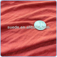 polyester knitting suede fabric cheap Sales promotion