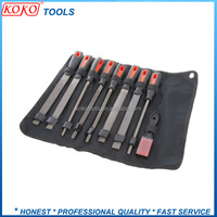 9 piece file and rasp set china steel file