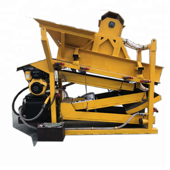 High quality Vibrating gold classify  gold vibrating screen plant