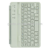 Ultra slim aluminum bluetooth keyboard with 7 inch keyboard case for ipad mini