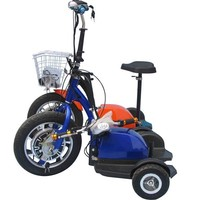 strong electric three wheel electric scooter, adults off road electric scooter, easy rider electric scooter