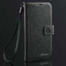 new stylish Genuine leather case for samsung galaxy s4 flip cover, flip case for samsung galaxy s4 active