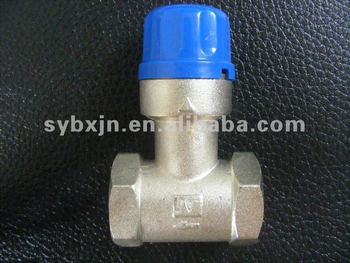 "brass 3/4"" Thermostatic Mixing Valves For Solar Water Heater(antifreeze valve)"