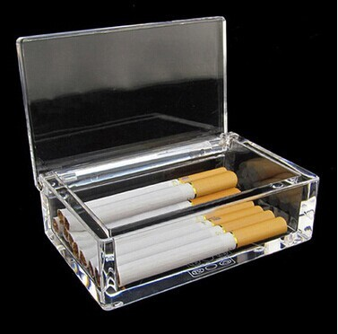 wholesale new style acrylic cigarette display case