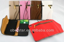 For Samsung Galaxy S3 i9300 High Quality Flip Zipper Wallet Cover PU Leather Case
