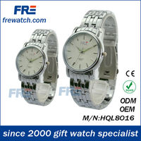 Special wholesale siliver sports wrist watch for lover high quality watches for sample style