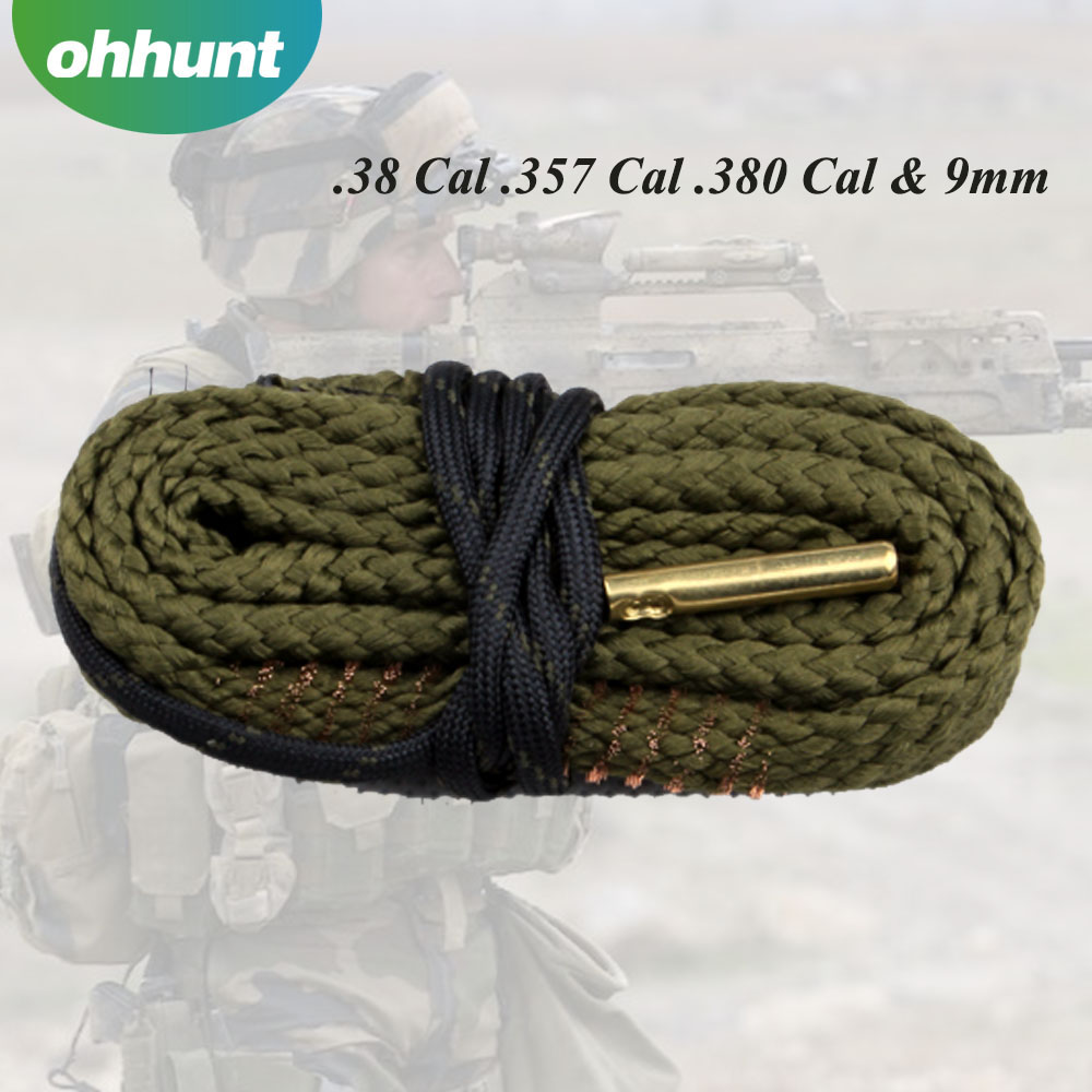 Hunting Cleaning Kits .38cal .357cal .380cal & 9mm Calibre Rifle Barrel Cleaning Gun Bore Cleaner