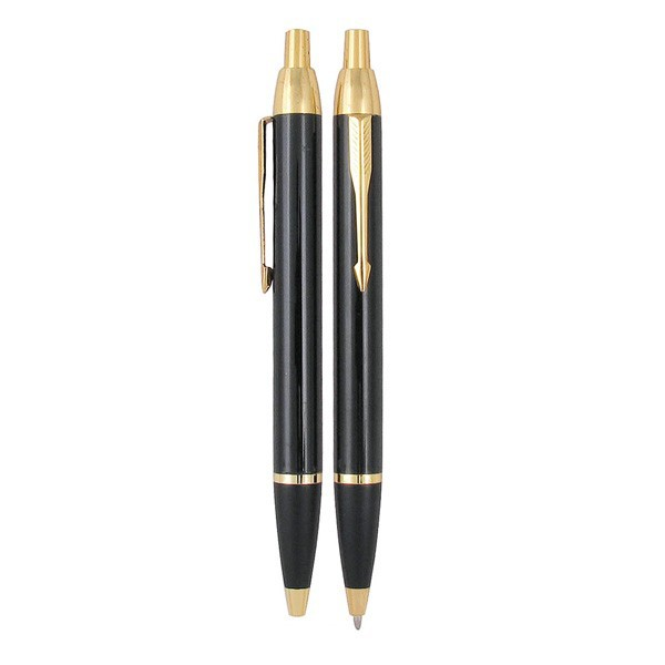 High Quality Promotional Gift Gold Clip Refill Models Parker Pen