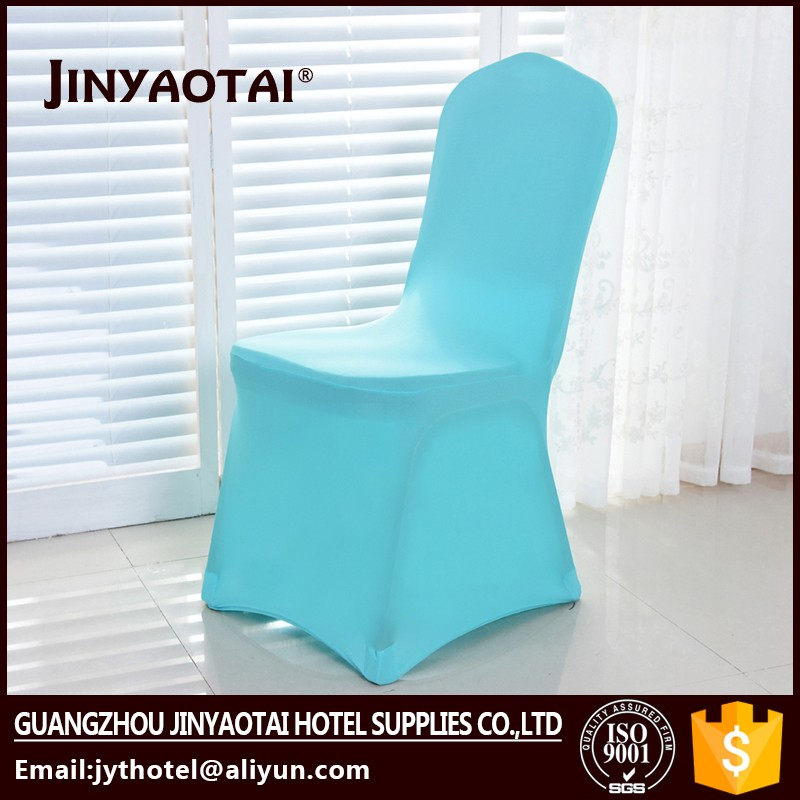 Jinyaotai dining room lycra elastic chair covers round back for sale in 2016