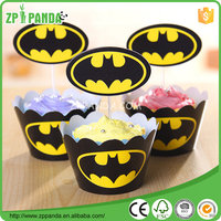 2016 New batman wrappers birthday party decoration wedding gifts favors cake decoration