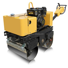 Full Hydraulic Drive Walk Behind Double Drum Vibro Roller Compactor