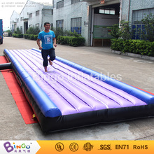 Hot Sales Inflatable Tumble Mats Floating water yoga mat For School
