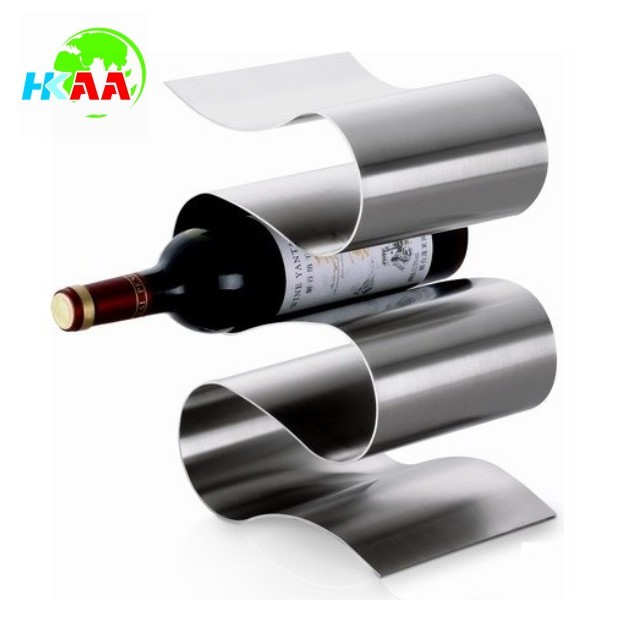 Home and kitchen use stainless steel modern wine racks