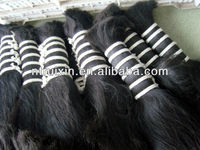 unprocessed chinese hair large in stock 5A 100% virgin remy hair