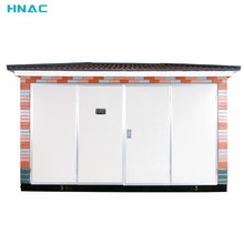 Outdoor Electrical Prefabricated Compact Transformer Kiosk Substation