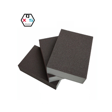 Brown color Abrasive Sponge Blocks in size <strong>100</strong>*70*25mm