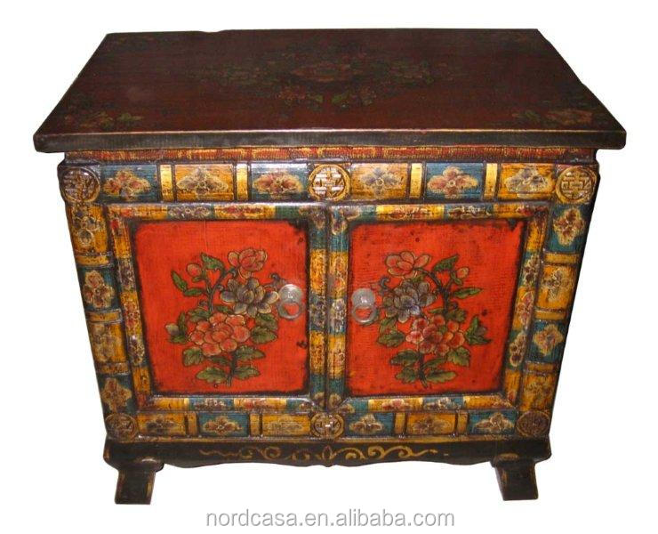 chinese antique furniture tibet painting cabinet buy antique