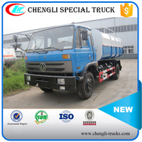 DONGFENG 4*2 180hp 8tons Hydraulic Automatic Lifting Garbage Refuse Truck