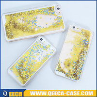 for iphone 5 cases glitter Bling bling glitter flowing liquid star case for iphone 5 5s case