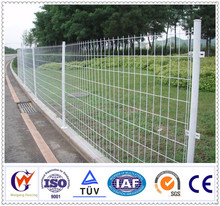 Free cleaning steel mesh fence with modern design