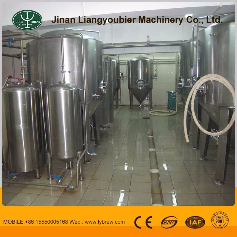 1000L steam two vessel micro brewery for sale, beer manufacturing plant