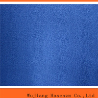 high quality 100% polyester linen look fabric