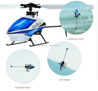 Flybarless Brushless V977 3D & 6G Mode 2.4G 6CH RC Helicopter with 6 & 3-Axis MEMS Gyro.