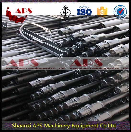 Oilfield API 11B sucker Rod for oil well production/Polish Rod/Pony Rod AISI 4130,4330