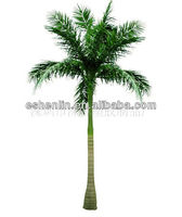 ShenLin 2017 artificial coconut bottle palm trees with fiberglass trunk on sale