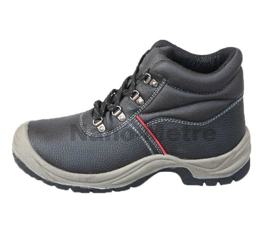 NMSAFETY split leather upper safety shoes