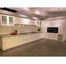 Home Funiture Modern White Lacquer Luxury High Gloss Lacquer Kitchen Cabinet Design For Experting