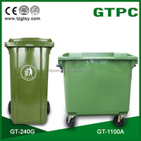 50L-1100L wheeled Eco-Friendly Feature and Outdoor Usage pedal plastic dustbin