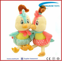 2016 hot lovely stuffed plush toy chicken