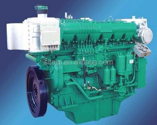 Weichai X6170 Series marine engine with advance gearbox