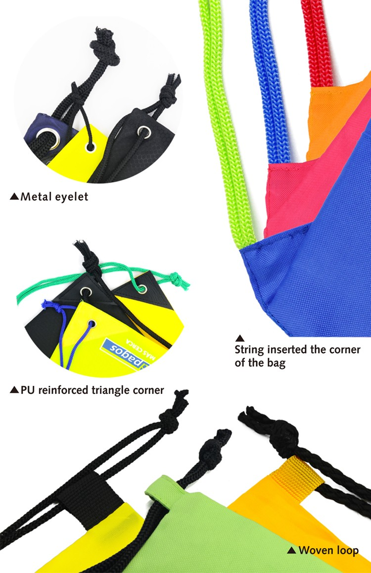 Sports gym bag for shoes waterproof drawstring backpack for men and women View larger image Sports gym bag for shoes waterproof