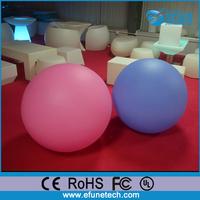 remote control battery operated rgb color changing illuminated led mood light decorative big ball led light